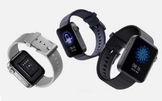 Часы Xiaomi Mi с поддержкой eSIM выпущены в Китае
