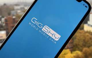 Настройка параметров GigSky eSIM на iPhone