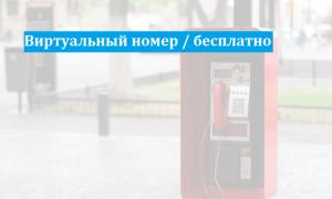 20 сайтов предоставляющих действительно бесплатные виртуальные номера мобильных телефонов для приема смс, в один шаг, без регистрации