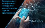 Виртуальные телефонные номера для экологических групп и организаций