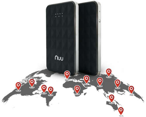 NUU Konnect i1 — 4G LTE Wi-Fi Hotspot для международных путешествий