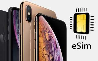 Как использовать eSIM и Dual SIM на IPhone 11, XR И XS