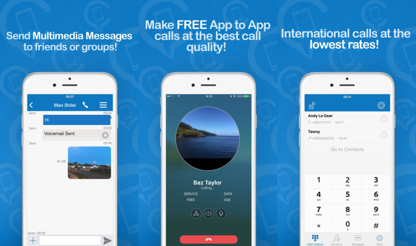 16 приложений с виртуальным номером телефона для смартфонов на iOS и Android