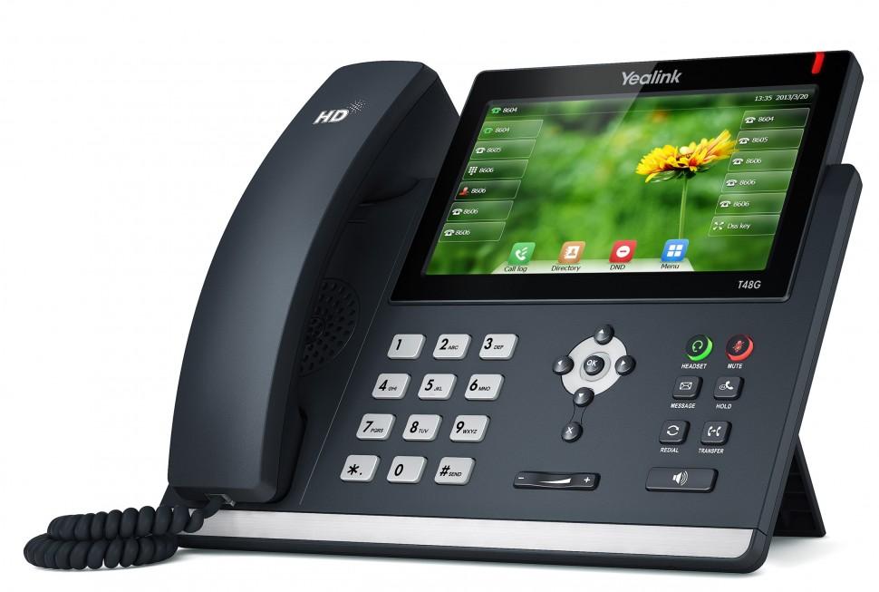 Обзор Yealink SIP-T48S: звук, дизайн, производительность; преимущества и недостатки