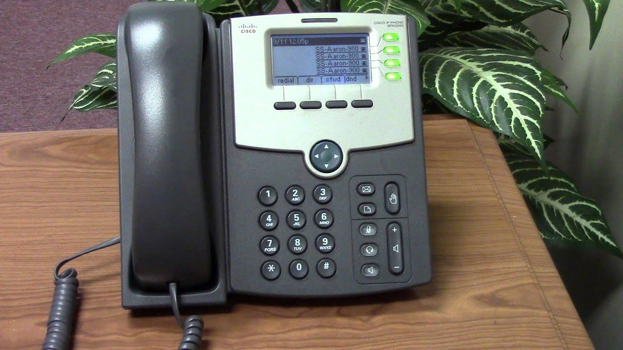 Инструкция по настройке Cisco SPA303