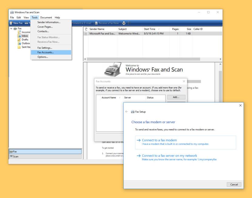 Программное обеспечение Microsoft Fax и 6 сайтов для бесплатной отправки факсов
