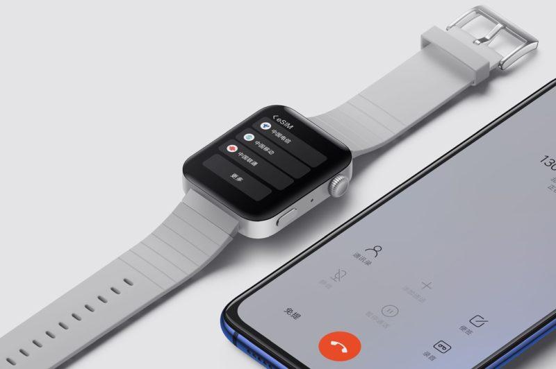 Xiaomi Watch стоит треть от стоимости Apple Watch и обеспечивает 2-кратное время автономной работы