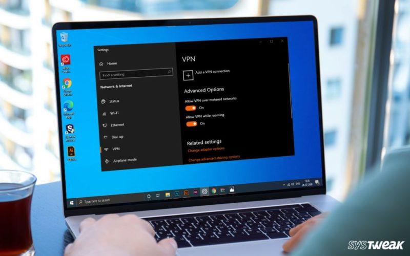 Как исправить код ошибки VPN 720 в Windows 10