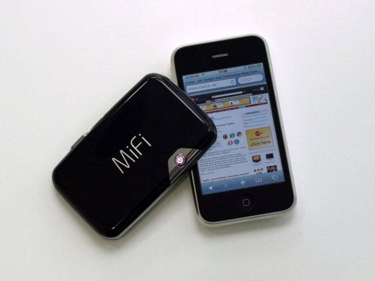 MiFi лучше для выхода в Интернет, чем смартфон?