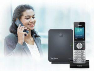 Беспроводной IP-телефон Yealink W60P: полный обзор и особенности