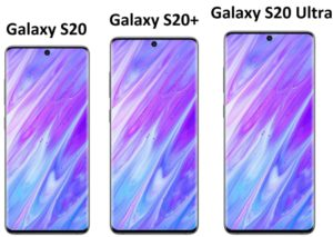 Samsung Galaxy S20, S20 +, S20 Ultra