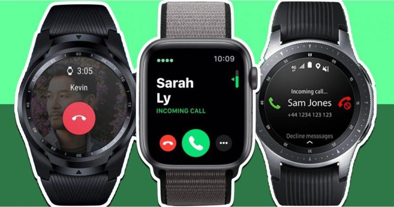 smart watch support esim